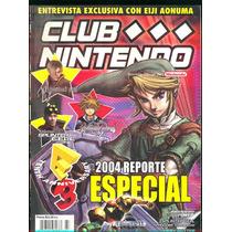 Revista/magazine Club Nintendo 2004 -envio Gratis
