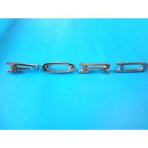 Emblemas Ford Mustang Letras De Cofre 1964-1972
