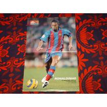 Poster Ronaldinho Barcelona España Don Balon
