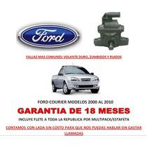 Bomba Licuadora Direccion Hidraulica P/caja Ford Courier Vmj