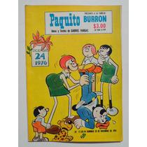 1976 La Familia Burron #17326 Paquito Gabriel Vargas Comic