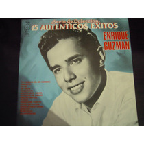 Enrique Guzman Vinyl 15 Autenticos Exito Clasico