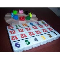 Base De Arranque Y 8 Trenes Para Domino Cubano