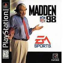 Ea Sports Madden Nfl 98 Ps1 Ps2 Ps3(solo Retrocompatibles)