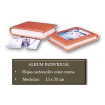 Album Fotografico Forrado En Piel 15 X 20 Cms