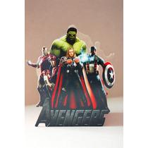 Centro De Mesa De Los Avengers Para Fiestas Infantiles