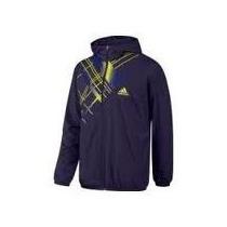 Chamarra Adidas Azul Edge Wu Jacket Talla L