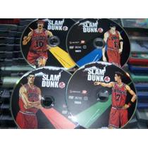Slam Dunk La Serie, Primeros 4 Dvd´s Originales Region!