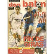 Revista Ronaldinho Raul Y Fernando Torres Don Balon