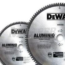 Disco Sierra Para Aluminio Y Madera 10x80 Carburo Vbf