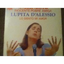 Disco Acetato De: Lupita D´alessio En Concierto