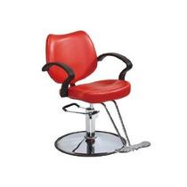 Moderna Silla Hidraulica Para Salon De Belleza Roja Vbf