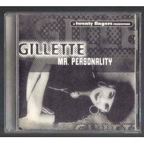 Gillette Mr Personality Cd Single Unica Ed 1995 C/6 Versione