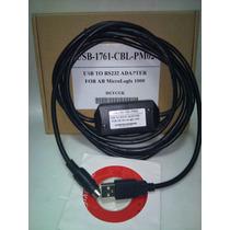 Cable Usb 1761-cbl-pm02 Para Plc Micrologix De Allenbradley