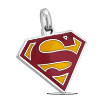 1293 Dc Comics Originals Pendiente Superman Logo