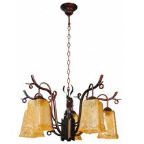 Lámpara Para Techo - Colección Bell - Luminaria De 5 Luces