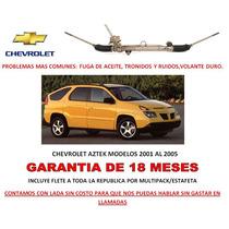 Caja Direccion Hidraulica Cremallera P/bomba Chevrolet Aztek