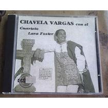 Chavela Vargas Con El Cuarteto Lara Foster Cd Raro Ed 2004