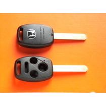 Carcasa Llave Control Honda 4 Botones Ó Repuesto De Hules