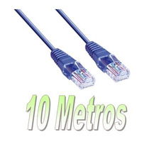 Cable Utp 10 Metros, Rj45, Path Cable, Redes, Internet