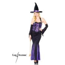 Leg Avenue Disfraz Bruja Largo 3 Piezas 83586 Sexy Hwo
