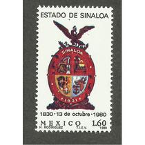 Mexico Escudo Estado De Sinaloa Vbf