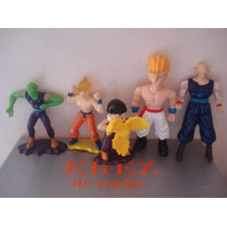 5 Figuras De Dragon Ball Z Miden 14 Cms