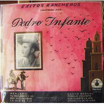 Bolero Pedro Infante, Éxitos Rancheros, Lp 10´, Hwo.