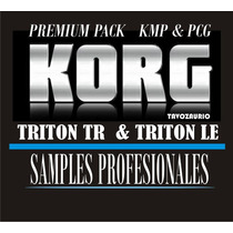 Korg Tr & Triton Le, Samples Profesionales (manual En Video)