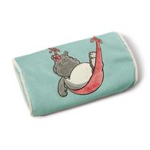 Nici- Cojin De Relajacion Hipopótamo Turquesa