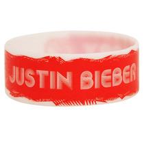 Hot Topic Muñequera Pulsera Justin Bieber Baby Glow-in-the-d