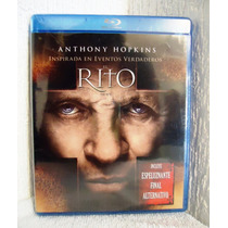 Subasta En Blu-ray De La Pelicula: El Rito, Anthony Hopkins