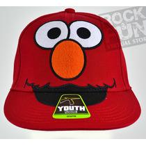 Elmo Sesame Street Gorra Infantil Importada 100% Original