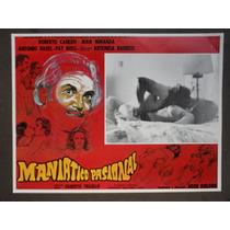 Maniatico Pasional Roberto Cañedo Topless Sexy Cartel D Cine