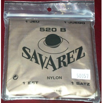 Savarez 520b Finas Cuerdas Guitarra Clasica Flamenca Nylon