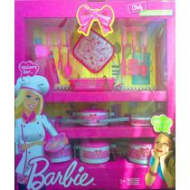 Barbie Cosinera Juego De Te