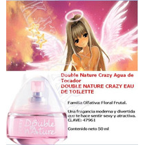 Double Nature Crazy Jafra 50ml Rm4