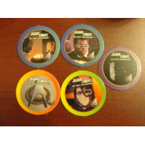 Originales Tazos De Star Trek Next Generation