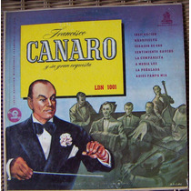 Tango, Francisco Canaro Y Su Gran Orquesta, Lp 10´ Css