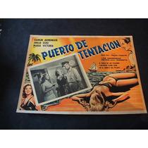 Puerto De Tentacion Emilia Guiu Lobby Card Cartel Poster