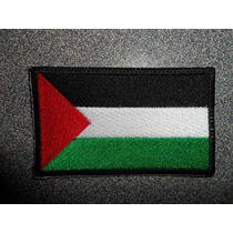 Bandera Palestina Bordado Parche Escudo