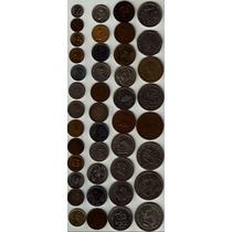 42 Monedas Antiguas Mexicanas Impecables, Por Lote Op4