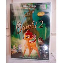 Bambi 2, La Pelicula En Formato Dvd, Walt Disney