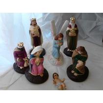 Nacimientos: Misterio, Reyes, Ángel, Niño Dios 10cm Monroy