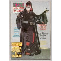Revista Wrestling Lucha Libre Mexicana Especial Octagón 1991