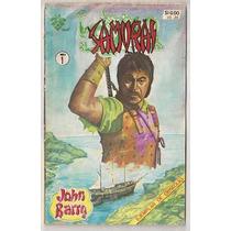 Samurai John Barry # 1 Y 2 Comics Mexicanos Ed Vid De 1982