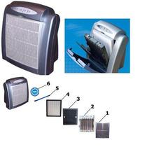 Multi Ionizador Purificador Aire-6 Tecnologias-protege Ah1n1
