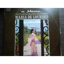 Disco Acetato De Maria De Lourdes