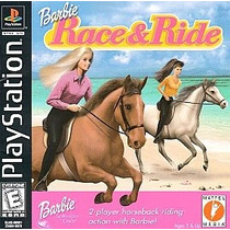 Barbie Race And Ride Ps1 Ps2 Ps3(solo Retrocompatibles)