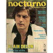 Alain Delon En Revista Mexicana Nocturno De 1976